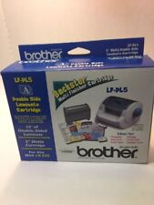 Genuine Brother LF-DL5 Double Side Laminate Cartridge NEW IN BOX (D100)