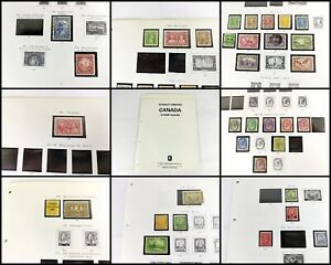 1826 CANADA: Large Early Collection. QV-KGVI. Better Seen. High CV [23 Pics]