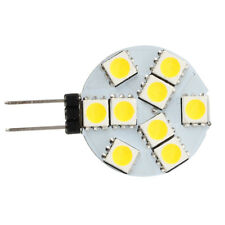 10 pcs G4 DC 12V 9 5050 SMD LED Spot Light Bulb Warm White for RV Boat J6C4