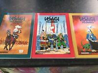 Usagi Yojimbo Books 1 ' 2 & 3 by Stan Sakai