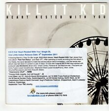 (GO528) Kill It Kid, Heart Rested With You - 2011 DJ CD