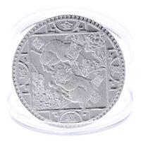 Jahr der Ratten-Gedenkmünze Chinese Zodiac Souvenir Coins Versilb YT