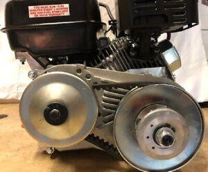 Predator Engine with Torque Converter Assembled