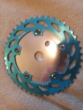 Haro master lineage blue BMX bike 110 SPROCKET disc & 44T chainring & 5 BOLTS🔥