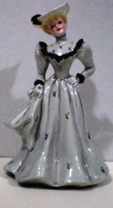 """Florence Ceramics Belle Gray FH Flower Holder 8"""""""
