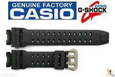 CASIO GR-9110GY-1V G-Shock 16mm Original Charcoal Rubber Watch BAND Strap