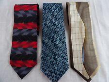 3- 100% Silk Ties, Stacy Adams, Alfani, Giorgio Brutini - Classy & Free Shipping