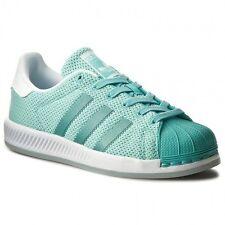 Nib~Adidas Originals SUPERSTAR BOUNCE honey Shoe Knit-Mesh Sneakers~Womens sz 10