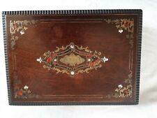 Boite N III  palissandre marqueterie boulle