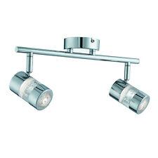Bubbles IP44 Chrome LED Ceiling Light Fitting Spotlight Bar Home Office Lighting
