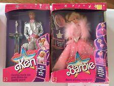 """Barbie & Ken """" SuperStar """" NRFB 1989"""