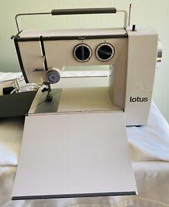 ELNA LOTUS TSP TYPE 36 SEWING MACHINE COMPACT PORTABLE SWISS MADE