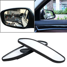 Rhombus Shape Stick On Adjust Rear View Convex Wide Blind Spot Auxiliary Mirrors