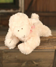 Settler Bears 'Cotton' Handmade Lamb Teddy Bear Gift 38cms BRAND NEW