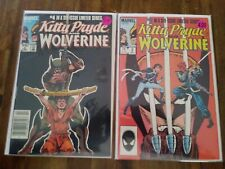 Kitty Pryde and Wolverine #4, 5 Comic Lot 2 Issues