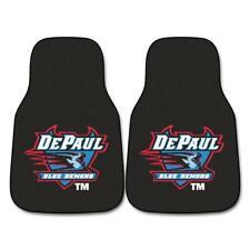 "Fan Mats DePaul 2-pc Carpeted Car Mats 17""x27"" 5221"