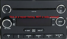 Ford radio display repair service for Visteon CD CD6 stereo.Fix burnt out lights