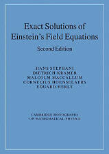 Exact Solutions of Einstein's Field Equations by  | Paperback Book | 97805214670