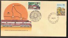 1980 Australian Historical Society OODNADATTA Postmark Railway OLD GHAN Cover
