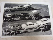 NEW 1955 FORD ON CAR CARRIER DIFFRENT MODELS  11 X 17  PHOTO   PICTURE