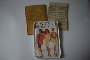 Vintage sewing pattern Style made easy Misses Jackets and Dress 8-18 unused