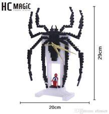 HC Magic Building Blocks - No. 7009 Spider-Man Logo Clock 282PCS