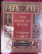 The Book of Ways Volumes 1 & 2 by Raven Grimassi Witchcraft Signed 1st Ed RARE