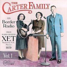 The Carter Family - On Border Radio 1939 [New CD]