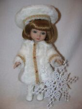 "10"" Mary Engelbreits Ann Estelle's Friend Sophie Doll By Tonner Fur Coat"