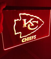 NFL KANSAS CITY CHIEFS logo Led Neon Sign for Game Room,Office,Bar,Man Cave