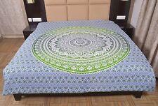 Ombre Mandala Duvet Cover Queen Cotton Comforter Cover Boho Hippie Blanket Cover