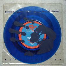 "Fiat Lux ‎– Blue Emotion   7"" Sinlge  blue vinyl     original  PVC jacket"