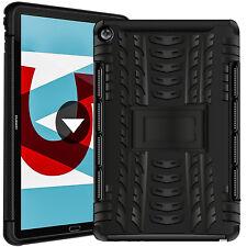 Schutz Hülle Für Huawei Mediapad Robust Tablet Tasche Case Cover Outdoor Schwarz