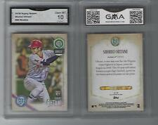 SHOHEI OHTANI TOPPS GYPSY QUEEN ROOKIE CARD GRADED GEM MINT 10 ANGELS