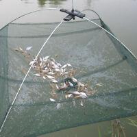 Practical Fishing Foldable Mesh Baits Trap Umbrella Cast Dip Net Crab SRGS
