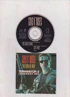 GUNS N' ROSES - you could be mine 2 trk MAXI CD cardsleeve