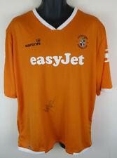 2009-10 Luton Town Football Shirt RYAN CHARLES Signed Soccer Jersey Hatters XL