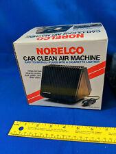 1980s NOS VTG Retro Norelco Car Clean Air Machine Allergy Filter Purifier
