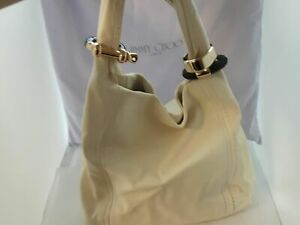 Jimmy choo white / cream  shoulder bag