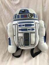 "Star Wars R2D2 Robot 13"" Plush Stuffed Back Pack for Kids"