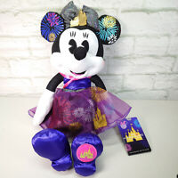 BNWT Minnie Mouse The Main Attraction Plush 12/12 December Castle Fireworks