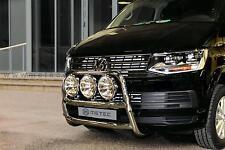 PARE BUFFLE NON HOMOLOGUE INOX VW T6 15- DIAM 60MM, GARANTI 6ANS