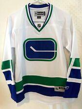 Reebok Women's Premier NHL Jersey Vancouver Canucks Team White Alt sz XL