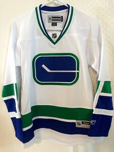 Reebok Women's Premier NHL Jersey Vancouver Canucks Team White Alt sz XL