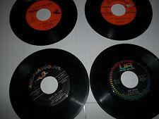 4 r&b soul 45 lot MARV JOhnson RAY CHARLES CAN'T STOP LOVING  DELFONICS J WILSON