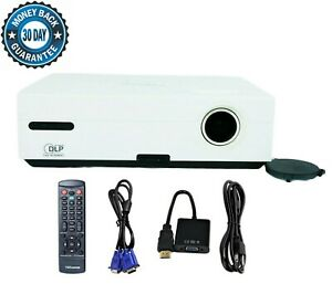 Optoma EX530 - DLP Projector 2600 ANSI HD HDMI w/Adapter 1080i Remote TeKswamp