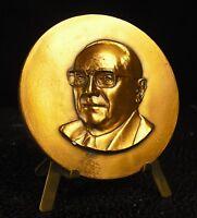 Medal Herbeuval Rene - Teachers of Medicine Nancy 161g 68mm Medal 铜牌