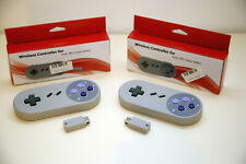 2x Nintendo SNES Classic Mini Wireless Controller