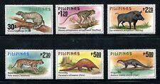 Philippines 1403-1408, MNH.Michel 1281-1286. Animals 1979:Civet cat,Boar