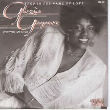 7inch GLORIA GAYNOR stop in the name of love HOLLAND 1983 EX (S1115)